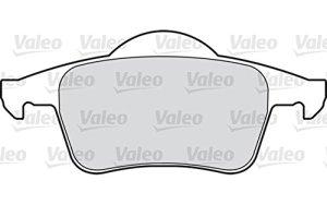 Valeo 5984804x plaquettes de frein arrière