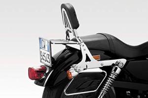 XL 883 Standard L R N 2006/09 – Dossier Libération Rapide (S-0482) – Sissy Bar – Facile à Installer – Visserie Inclus – Accessoires De Pretto Moto (DPM Race) – 100% Made in Italy