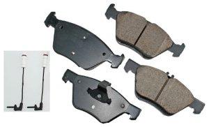 Akebono EUR853 EURO Ultra-Premium Ceramic Brake Pad Set by Akebono
