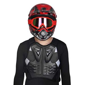 HUNGOKU- Motorcycle Rider Chest Back Spine Protector Vest Anti-Fall Gear Body Guard