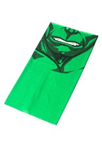 Marvel The Incredible Hulk Multi-Purpose Neck Gaiter Scarf Bandanas. Cache-cou, Vert, Taille unique Mixte