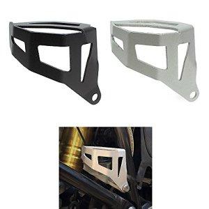 Moto en aluminium Frein arrière Réservoir de liquide Coque de protection pour 2013et à BMW R1200gs R 1200GS ADV Adventure Eau refroidie Modèle 20142015201613141516, noir