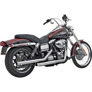 Vance & Hines droitshots Slip-Ons Chrome Harley Davidson Dyna Glide 91-15