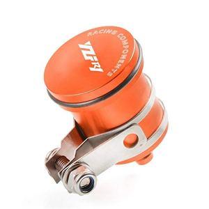 XIANGBAO Le QI Moto d'embrayage Réservoir maître-Cylindre d'huile Coupe du Frein Réservoir de Liquide for Yamaha YZF R1 YZFR1 YZFR1 2004-2016 2011 2012 2013 (Color : Orange)