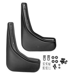 FROSCH EXP.NLF.47.22.E13 Garde-boue en caoutchouc ajusté anti-éclaboussures arrière pour SUZUKI SX4 Année : 14 pièces avec fixation, noir