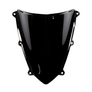 MPW Double écran à bulles Noir – Honda CBR 600 RR 07-09