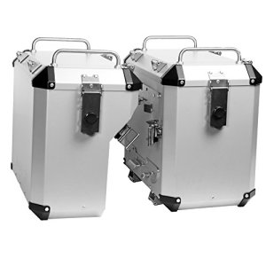 Mytech–Kit Valises droite 47litres et déléguée 41litres et châssis de fixation SG. Rapide–V Strom 1000aBS à partir de 2014