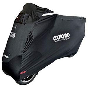Oxford Protex Stretch Housse de Moto pour Trois Roues Noir