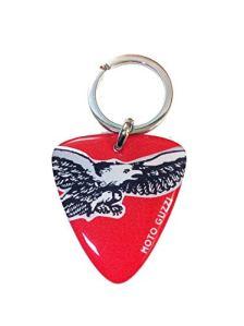Porte-clés en résine moto guzzi Rouge