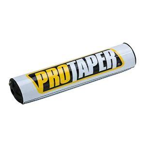 PRO TAPER – Mousse de guidon 20,32cm blanc pour guidon avec barre