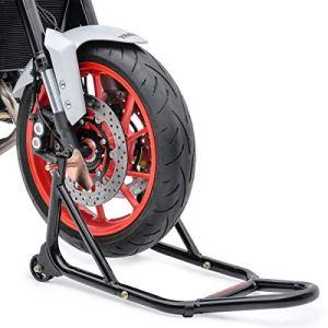 Béquille d'atelier moto roue avant ConStands Front Yamaha MT-01/ MT-03/ MT-10/ MT-125, MT-07/ MT-09/ Tracer, XJ6/ Diversion/ F, XJR 1300/ 1200/ SP, XSR 700/ 900 noir