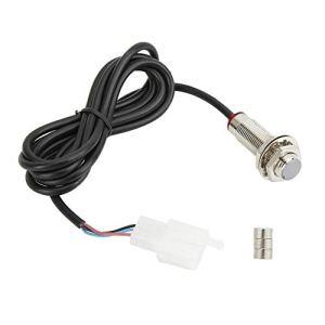 Câble de capteur d'odomètre Suuonee, câble de capteur avec accessoire à 3 aimants pour compteur de vitesse d'odomètre de moto