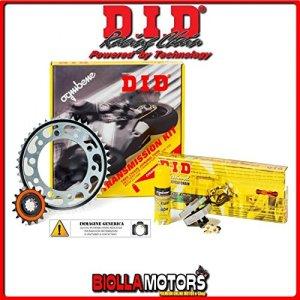 DID – 372834000– Kit avec chaîne, couronne et pignon pour Honda XL 700 V Transalp à partir de 2009, 700cc