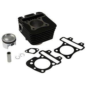 Kit cylindre Top Performances 70cc AC, Cylindre en fonte grise pour Vespa LX 50 C387 – 4 Takt – 4V | Vespa S 50 C386 – 4 Takt 4V