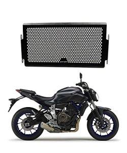 Moto Acier Inoxydable Couvercle de Protection de Grille de Radiateur pour Yamaha MT07 MT-07 MT 07 2014 2015 2016 2017, un Bon Choix pour votre Radiateur de Moto