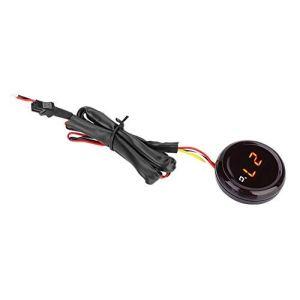Moto Thermomètre, Thermomètre Numérique Température De L'eau Compteur Jauge Moniteur De Température De La Moto Testeur(lumière rouge)