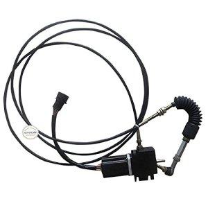 Sinocmp 111–54971115497Moteur Accélérateur avec câble unique Round plug pour Caterpillar 307E307307d'un moteur d'accélérateur pièces 6mois de garantie