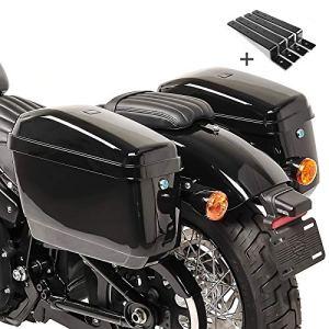 Valises rigides Craftride NV (paire) 20l + kit de montage Kawasaki VN 1500/ 1600 Classic / Mean Streak, VN 800/ 1700/ 2000/ Classic, VN-15