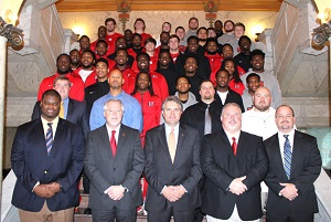 Njcaa Football Champion Emcc Lions Honored At Capitol By Mississippi