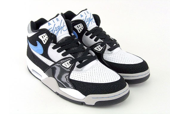 Nike Air Flight 89 - Black - White - University Blue