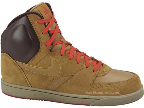 Nike RT1 High – Wheat / Chocolate Brown – Winter 2009