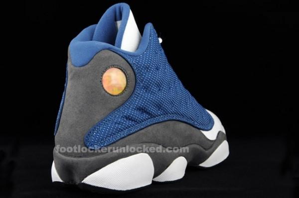 Air Jordan 13 (XIII) Retro - Flint Grey / French Blue - Release Date