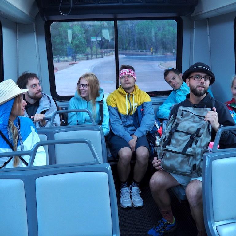 shuttle bus zion park