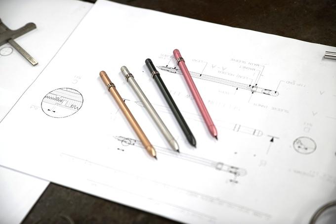 シャーペンのようで違う…マグネットで芯が出てくる鉛筆 MAGNO(マグノ)   Kickstarter fan!