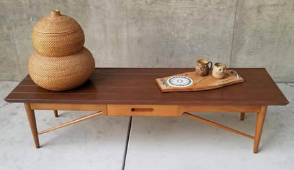 sold 60 s coffee table