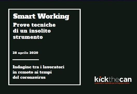 Coperta indagine smart working