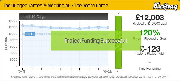 The Hunger Games®: Mockingjay - The Board Game -- Kicktraq Mini