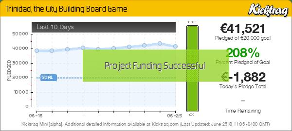 Trinidad, the City Building Board Game -- Kicktraq Mini