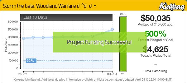 Storm the Gate: Woodland Warfare 🐰🦊🐻 -- Kicktraq Mini