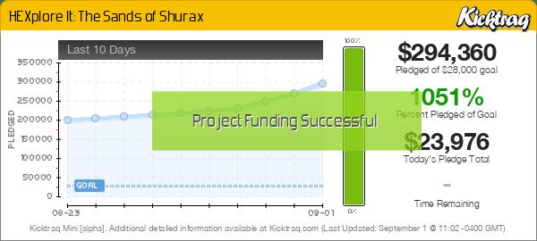HEXplore It: The Sands of Shurax -- Kicktraq Mini
