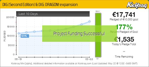 DIG (Second Edition) & DIG: DRAGON! expansion -- Kicktraq Mini