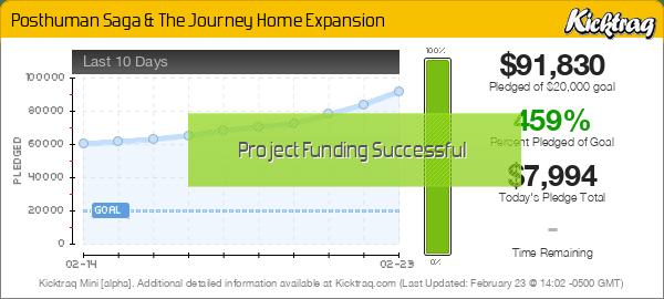 Posthuman Saga & The Journey Home Expansion -- Kicktraq Mini