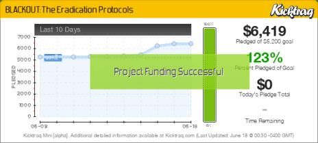 BLACKOUT: The Eradication Protocols -- Kicktraq Mini