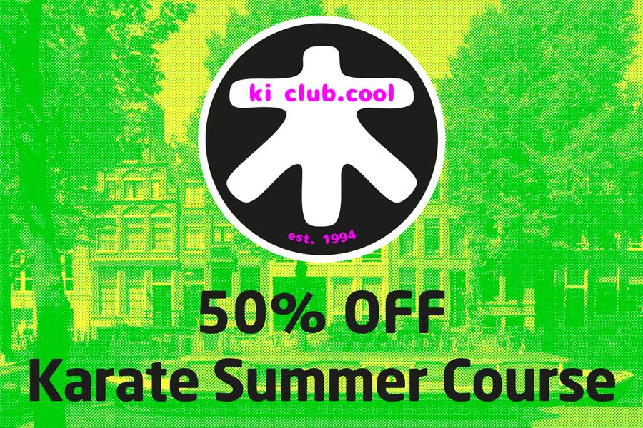 50% off summer karate course - Zomer karate programma [*2019]-karate summer school organized by Amsterdam karate school ki club.cool Amsterdam   karate-amsterdam   shotokan-amsterdam   Amsterdam   karate   ki