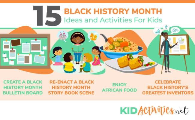 15 Black History Month Ideas And Activities For Kids