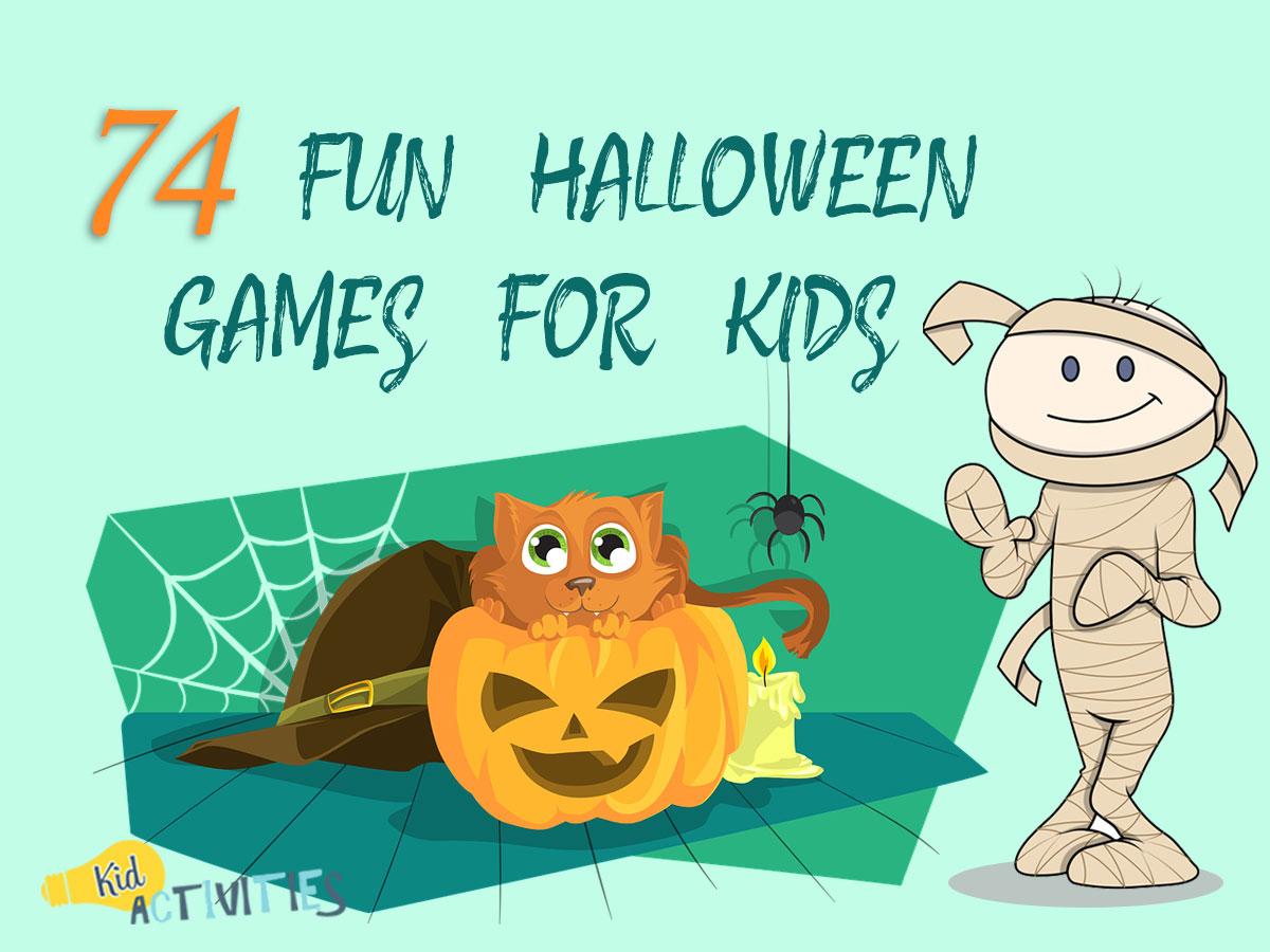 Esl Kindergarten Halloween Games