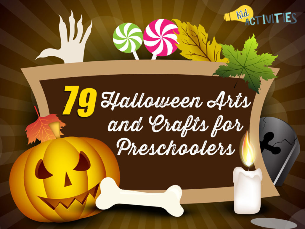 79 Halloween Arts And Crafts For Preschoolers