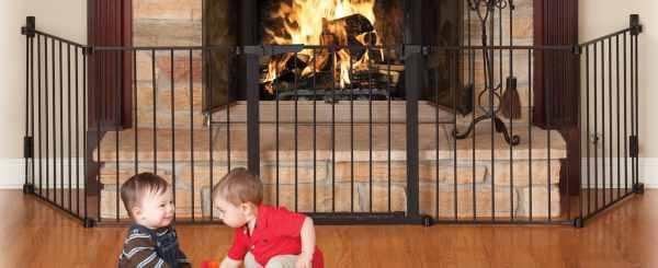 Wood Stove Safety Gate Children
