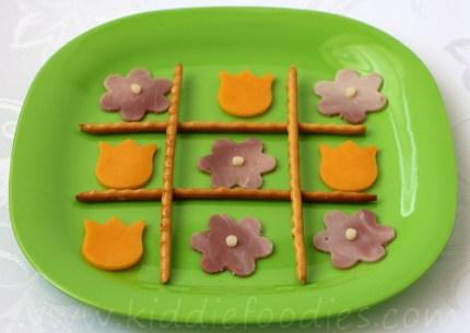 Tic Tac Toe snack for kids