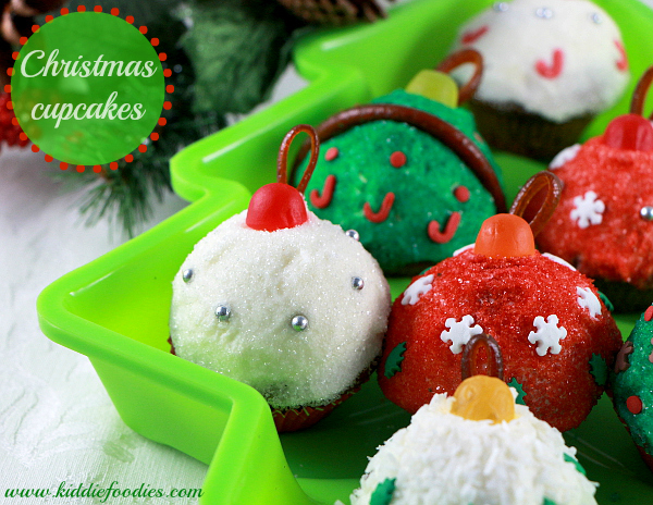 How To Decorate Cupcakes For Christmas