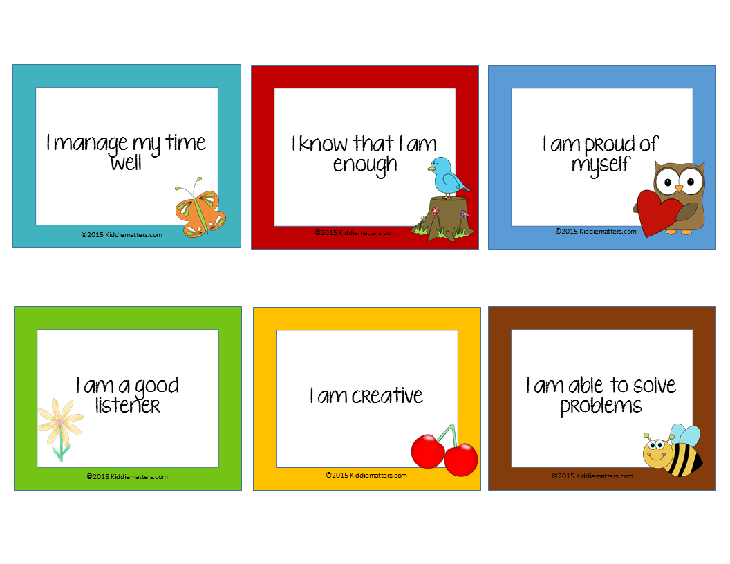 4 Tips For Teaching Children Affirmations