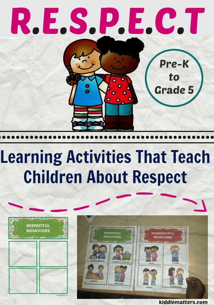 Learnimg Activities That Teach Children About Respect