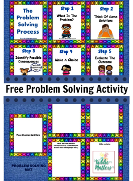 Problem Solving Activity Free Printable
