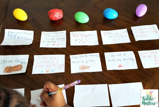Plastic Easter Egg Inside Out Memory Orbs