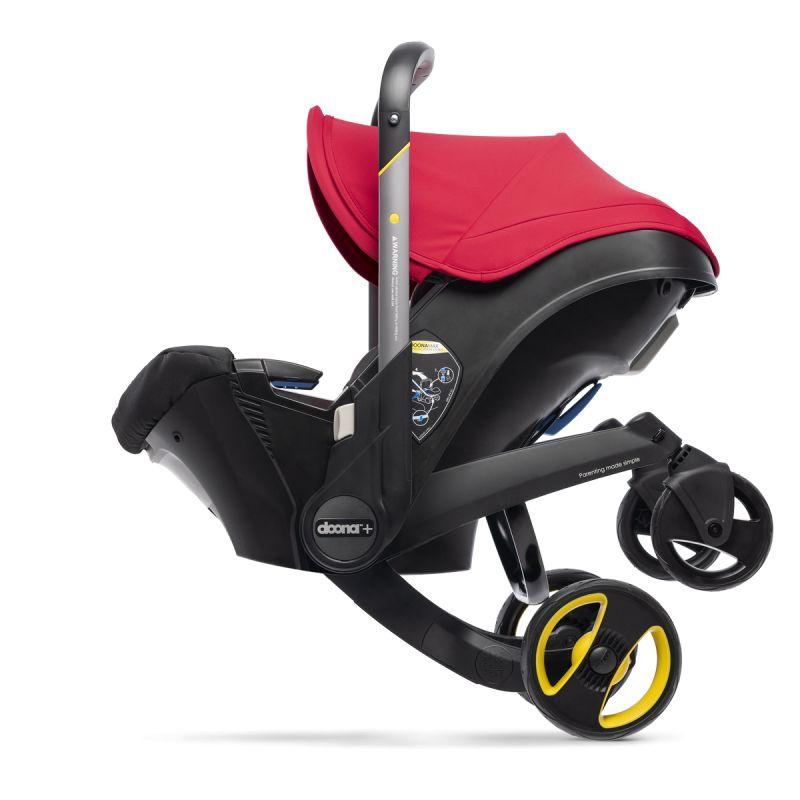 Doona Infant Car Seat Stroller-Flame Red + FREE Doona Rain ...
