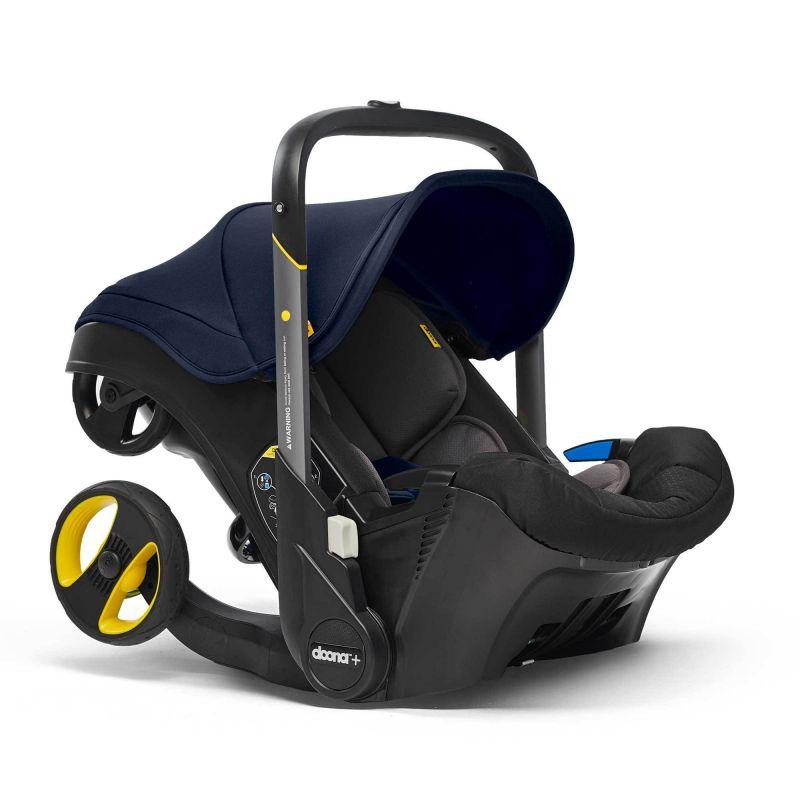 Doona Infant Car Seat Stroller-Royal Blue + FREE Raincover ...